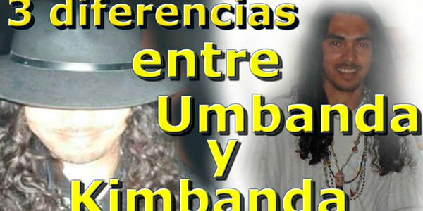 3 diferencias entre Umbanda y Kimbanda